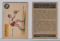 FC26-3 Nabisco, Sports Cards Ted Reeves Says, 1953, #56 Basketball