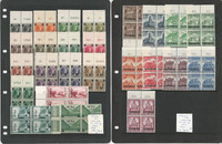 Luxembourg World War II German Occupation Collection Mint NH Blocks, JFZ
