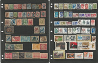 Russia Stamp Collection on 46 Stock Pages, Lots of Nice Topicals, JFZ