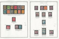 United States Stamp Collection on 17 Pages, 1932-1941 Mint, JFZ