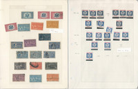 United States Stamp Collection, Special Delivery & Officials, 3 Pages, JFZ