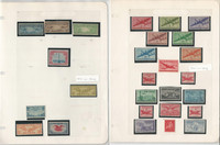 United States Stamp Collection, Airmail, 3 Pages, JFZ