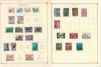 Yugoslavia Stamp Collection on 26 Scott International Pages, 1953-1966, JFZ