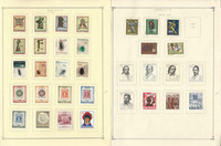 Yugoslavia Stamp Collection on 26 Scott International Pages, 1966-1970, JFZ