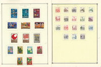 Yugoslavia Stamp Collection on 26 Scott International Pages, 1971-1980, JFZ