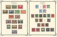 Yugoslavia Stamp Collection on 38 Scott Vintage Pages, 1918-20 Bosnia, JFZ