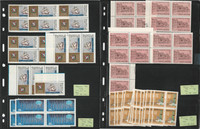 Argentina Stamp Collection on 5 Pages, Mint NH Stock, JFZ