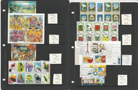 Aruba Stamp Collection on 4 Pages, Mint #296//371, JFZ