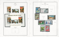 Benin Stamp Collection on 6 Steiner Pages, 1977-1985 Most Mint NH, JFZ