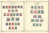 Bohemia Moravia Stamp Collection on 12 Scott Specialty Pgs, World War II, JFZ