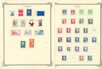 Denmark Stamp Collection on 14 Scott Specialty Pages, 1989-1996, JFZ