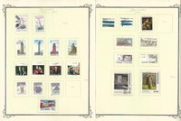 Denmark Stamp Collection on 18 Scott Specialty Pages, 1996-2004, JFZ