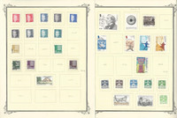 Denmark Stamp Collection on 18 Scott Specialty Pages, 2005-2011, JFZ