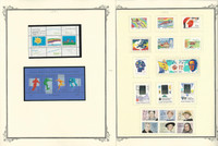 Finland Stamp Collection on 18 Scott Specialty Pages, 1991-1998, JFZ