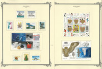 Finland Stamp Collection on 26 Scott Specialty Pages, 1998-2005, JFZ