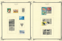 Finland Stamp Collection on 50 Scott Specialty Pages, 2005-11 + Semi's, JFZ