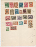 Fiume Stamp Collection on 1 Page. 1921-1922 Nice Selection, JFZ