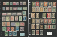 Fiume Stamp Collection on 3 Stock Pages, 1921-1922 Interesting Lot, JFZ