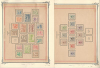 Germany Locals Stamp Collection on 5 Scott Specialty Pages, 1946, JFZ