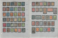 Greece Stamp Collection on 4 Pages, #1//333 Classics Neatly Identified, JFZ