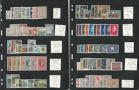 Greece Stamp Collection on 5 Pages, Mint NH Sets, With C22-C30, JFZ