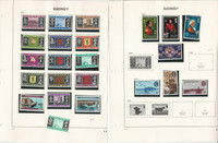 Guernsey Stamp Collection on 30 Pages, 1971-1986 Most Mint NH Sets, JFZ