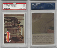 1975 Topps, Planet of the Apes, #22 Valuable Answers, PSA 7 NM