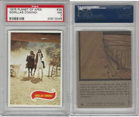 1975 Topps, Planet of the Apes, #39 Gorillas Coming!, PSA 7 NM