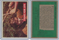 1956 Topps, Davy Crockett Green Back, #30A Fight For Life (B)