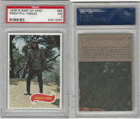 1975 Topps, Planet of the Apes, #65 Frightful Visage, PSA 7 NM