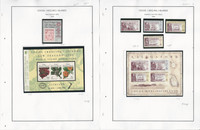 Cocos Islands Stamp Collection on 21 Steiner Pages, 1990-2010, JFZ