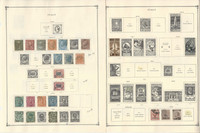 Italy Stamp Collection on 20 Scott International Pages, 1863-1940, JFZ