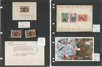 Liberia Stamp Collection on 2 Pages, C62a, 1161, Ashmun Experimental, JFZ