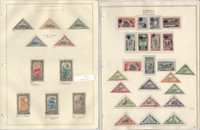 Liberia Stamp Collection on 6 Pages, 1921-1942, JFZ