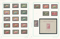 Niger, French Colony Stamp Collection on 2 Pages, Ship Topicals, JFZ