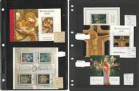Palestine Autority Stamp Collection on 6 Pages, Mint Sets & Sheets, JFZ