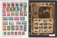 Serbia Stamp Collection on 3 Pages, Interesting Lot, JFZ