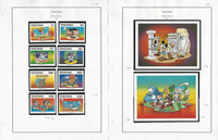 Tanzania Stamp Collection on 13 Pages, 1991-1994 Disney Mint Sets, JFZ