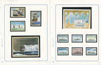 Tuvalu Stamp Collection on 14 Pages, Mint Sets, Ships, Royalty, JFZ