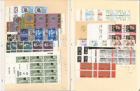 Malta Stamp Collection on 12 Pages, Mint NH Blocks & Sheets, 1972-84, JFZ
