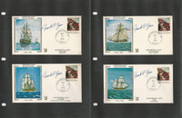 United Sates Ships, Nautical Stamp Collection on 24 Pages, Covers+  (B), JFZ