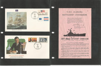 United Sates Ships, Nautical Stamp Collection 20 Pages, Covers Blocks  (C), JFZ