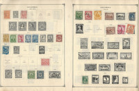 Columbia Stamp Collection on 27 Scott International Pages 1899-1958, JFZ