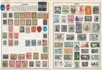 Columbia Stamp Collection on 24 Harris Pages 1868-1980, JFZ