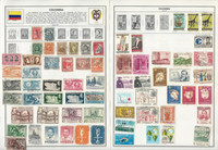 Columbia Stamp Collection on 20 Harris Pages 1868-1981, JFZ