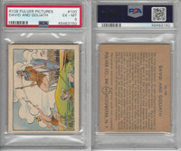 R108 Pulver Co., Pulver Pictures, 1930's, #100 David and Goliath, PSA 6 EXMT