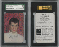 D57 Mother's Cookies, Movie Star Cards, 1953, #9 Tony Curtis, SGC 96 Mint