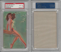 W424-2b Mutoscope, Artist Pin-Up Girls, 1945, Mother Said I Should, PSA 8 NMMT