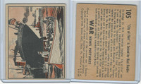R165 Gum Inc, War News Pictures, 1939, #105 City Of Flint Is Seized By Nazi