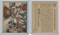 R165 Gum Inc, War News Pictures, 1939, #107 Peasants Dynamited